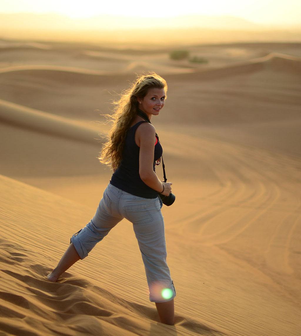 Kim Hochformat Desertfreigestellt