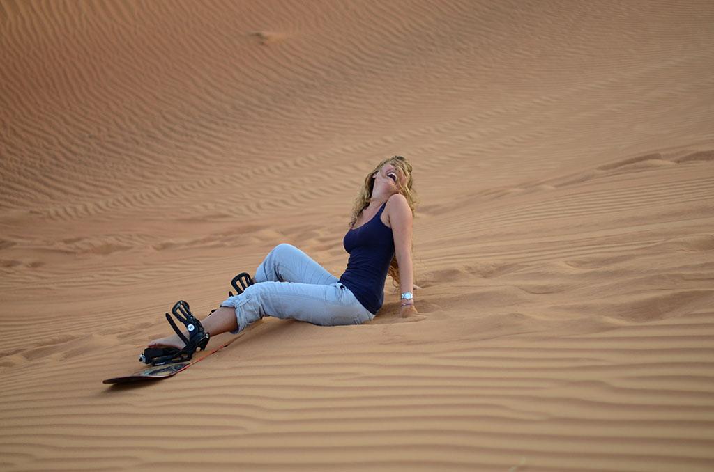 Kim Sandboarding